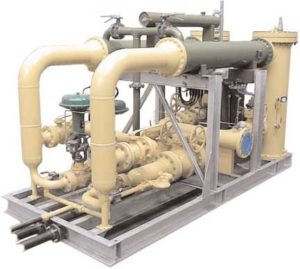 Dual Redundant Fuel Gas Conditioning skid for pressure reduction