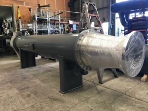 Exhaust Condenser for Rocket Lab